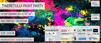 flyer paint party modificat
